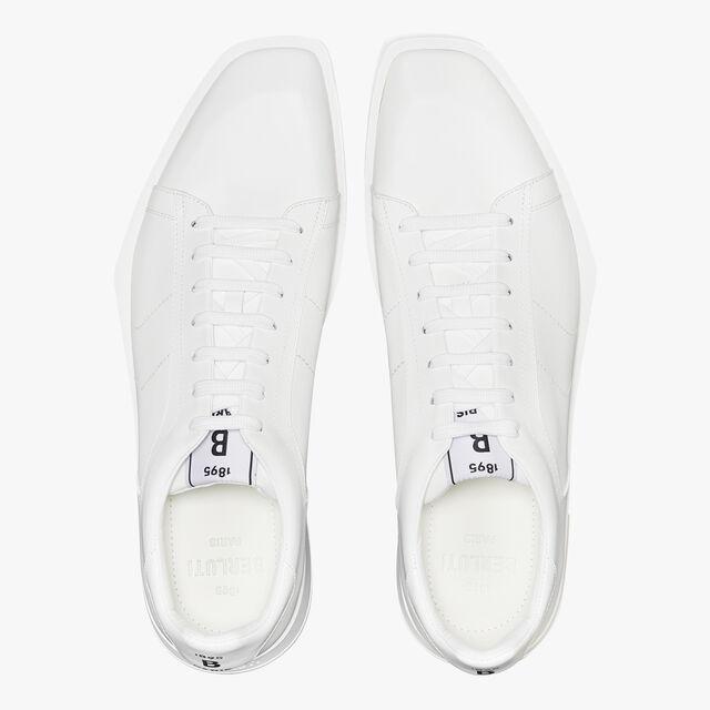Stellar Leather Sneaker, WHITE, hi-res