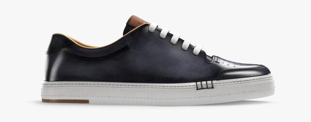 Sneaker Playtime En Cuir , METEORITE, hi-res