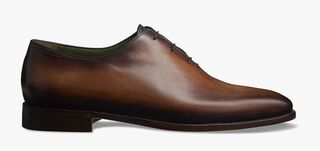 Alessandro Démesure Leather Oxford, Leather Sole, CACAO, hi-res