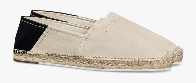 Iban Biarritz Agnello Leather Espadrille, IVORY, hi-res