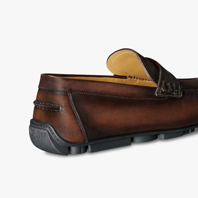 Saturnin Scritto Leather Driving Shoe, TDM INTENSO, hi-res