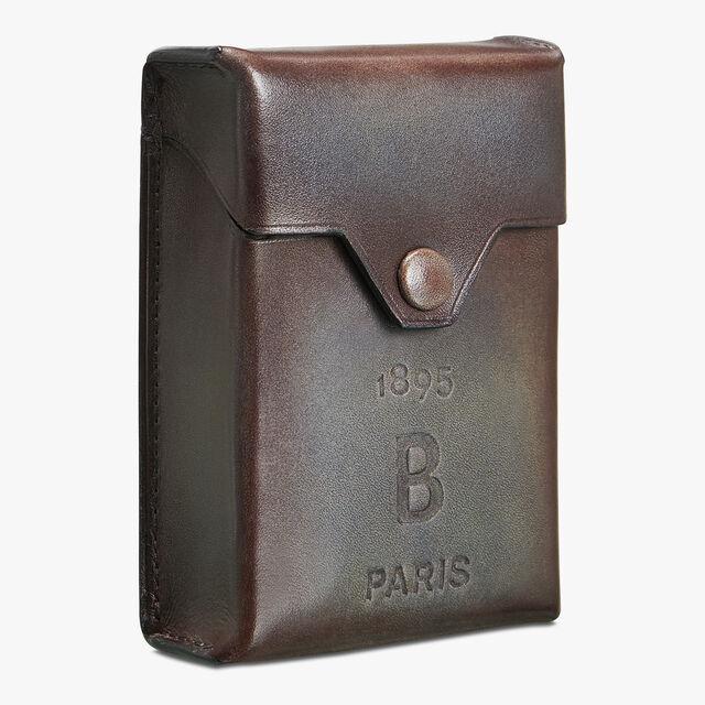 Leather Cigarette Case, ICE BROWN, hi-res