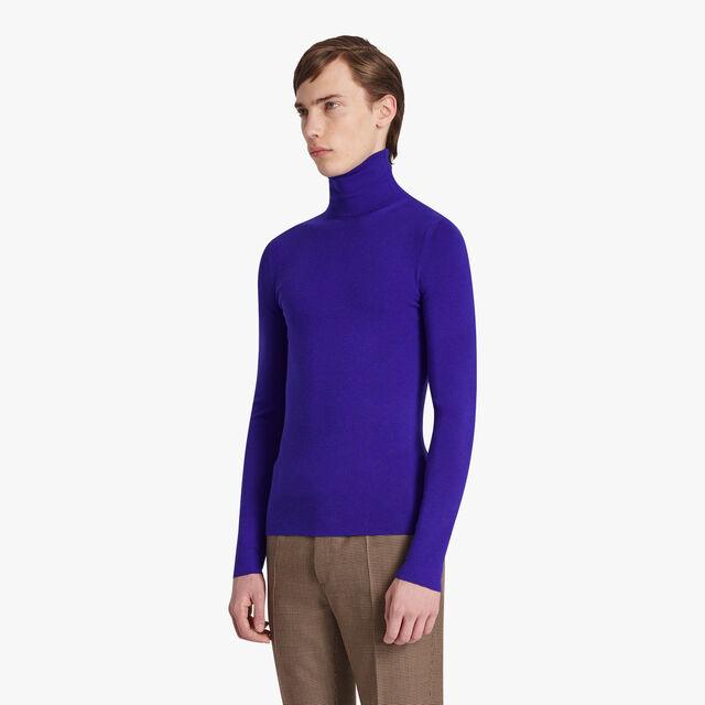 Cashmere Turtleneck, LAPIS BLUE, hi-res