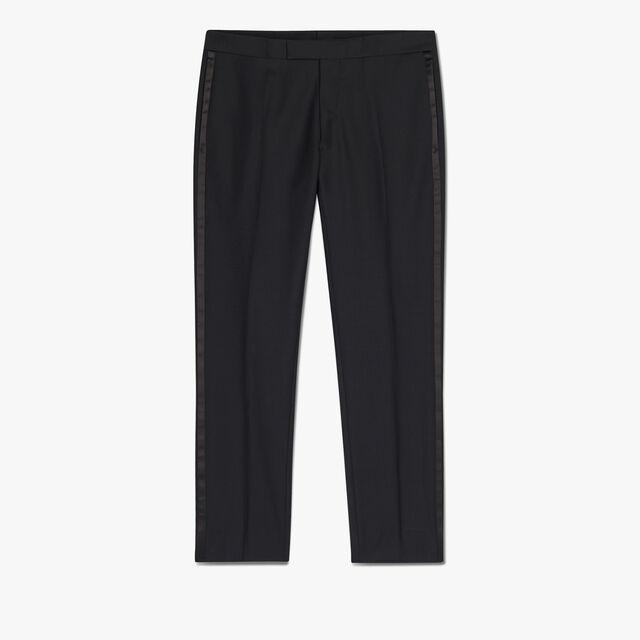 Wool Tuxedo Trousers, NOIR, hi-res