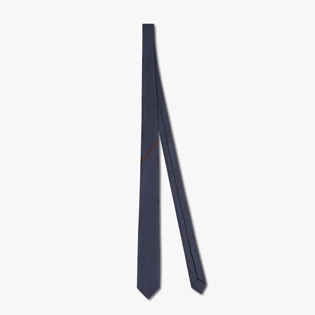 6 cm Silk Tie, PLEIADES BLUE, hi-res