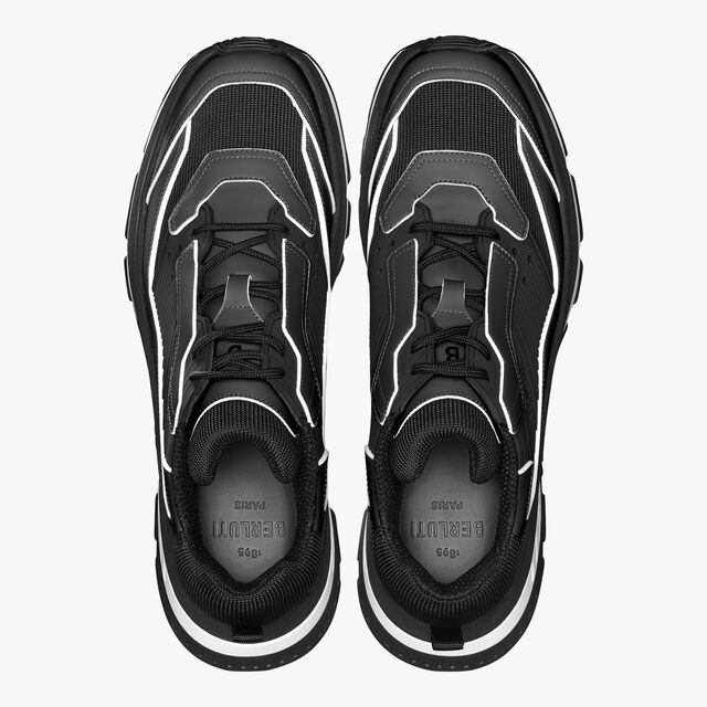 Gravity Leather Sneaker, BLACK, hi-res