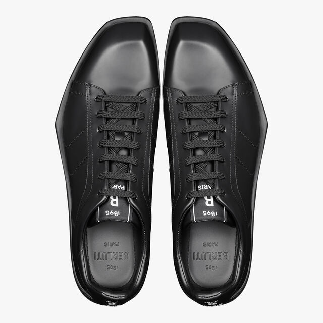 Stellar Leather Sneaker, BLACK, hi-res