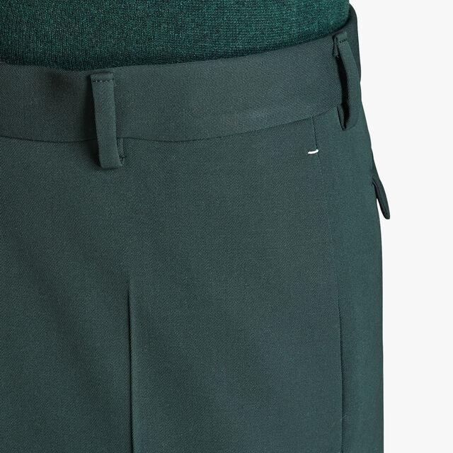 Pantalon Doublé Formel En Laine - Coupe Regular, OPUNTIA, hi-res