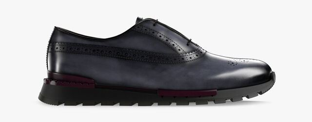Fast Track Torino Calf Leather Sneaker, MOGANO, hi-res