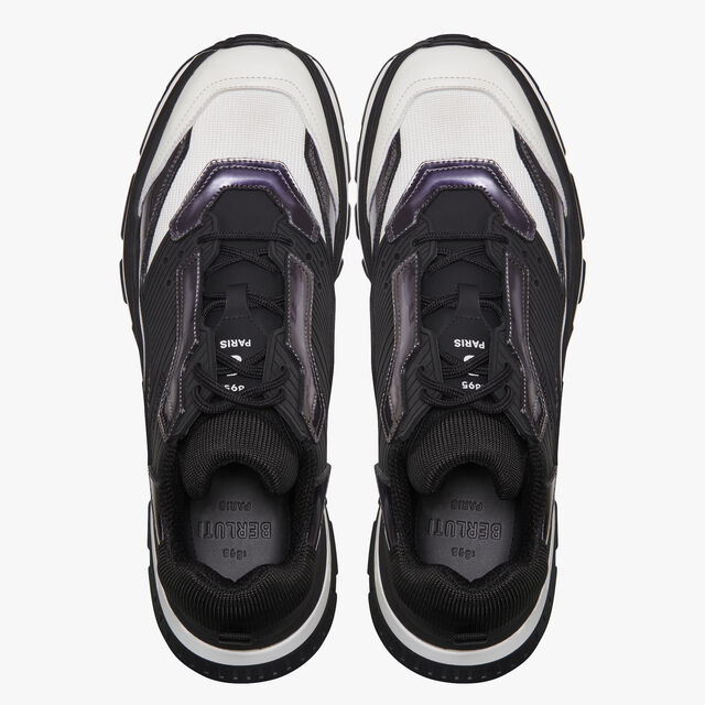 Gravity Calf Leather Sneaker, BLACK METAL, hi-res