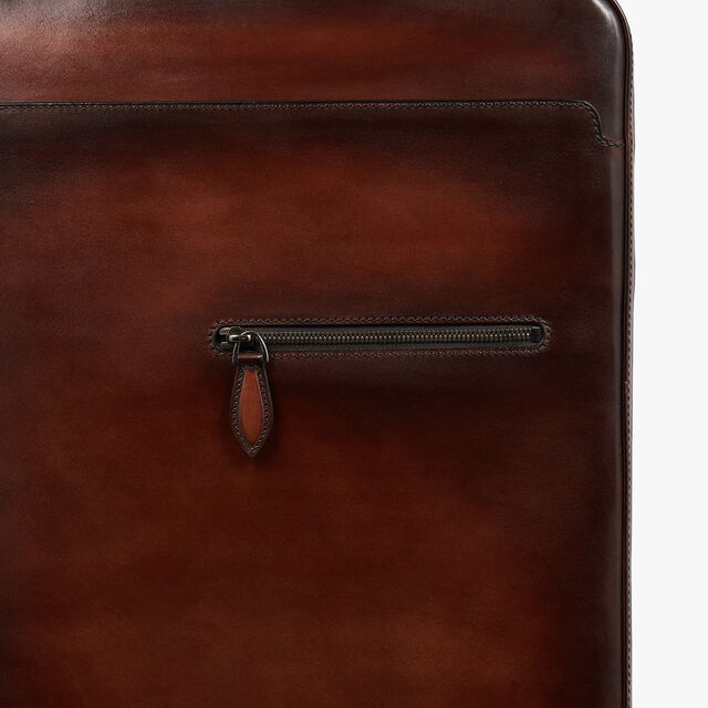 Formula 1004 Leather Rolling Suitcase, MOGANO, hi-res