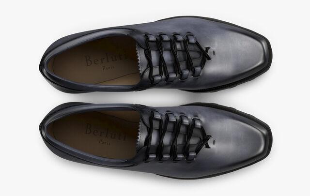 New Ultima Udine Calf Leather Oxford, MEDIUM FLANEL, hi-res