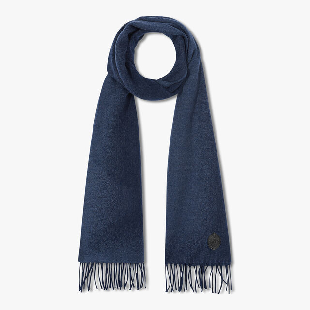 Cashmere Patina Scarf, SHADED BLUE, hi-res