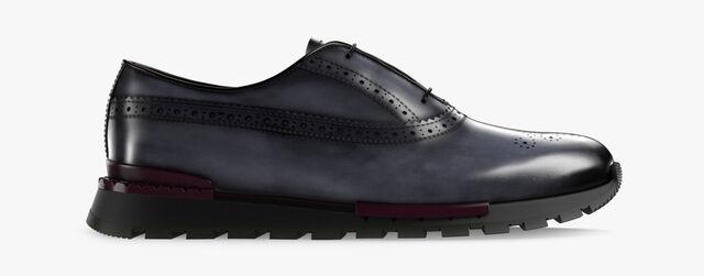 Sneaker Fast Track En Cuir , MOGANO, hi-res