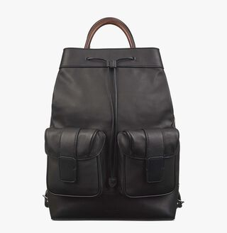 Horizon Leather Backpack, NERO, hi-res