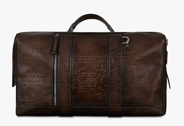 Eclipse Small Scritto Leather Travel Bag, TDM INTENSO, hi-res