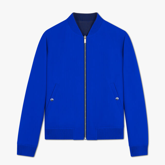 Reversible Light Virgin Wool Blouson, MIDNIGHT BLUE, hi-res