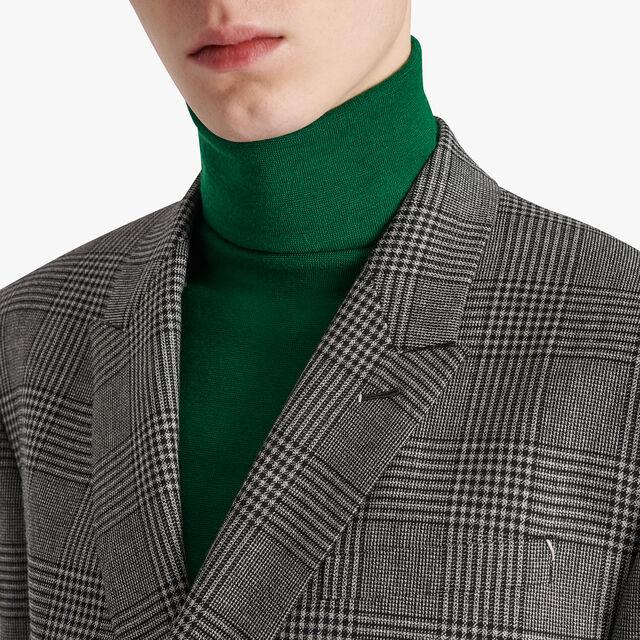 Mouline Check Regular Lined Jacket