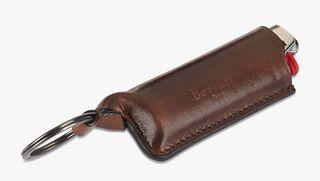 Leather Lighter Case, MOGANO, hi-res