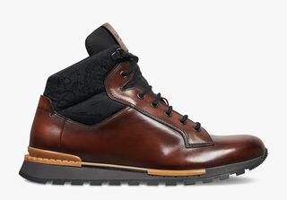 Sneaker Fast Track Torino En Cuir, MOGANO, hi-res