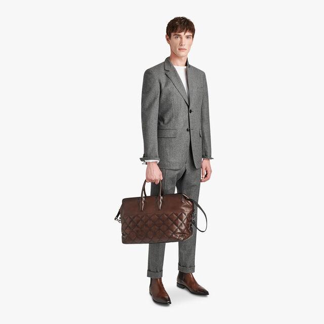 Fittted Wool Formal Jacket, LEAD, hi-res