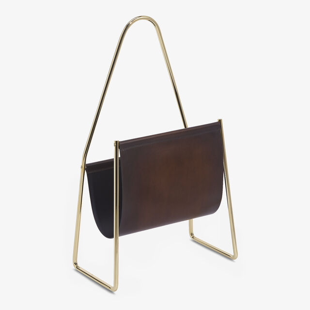 Brass and Venezia Magazine Rack , TDM INTENSO, hi-res