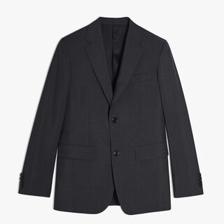 Classic Wool Suit, CHARCOAL GREY, hi-res