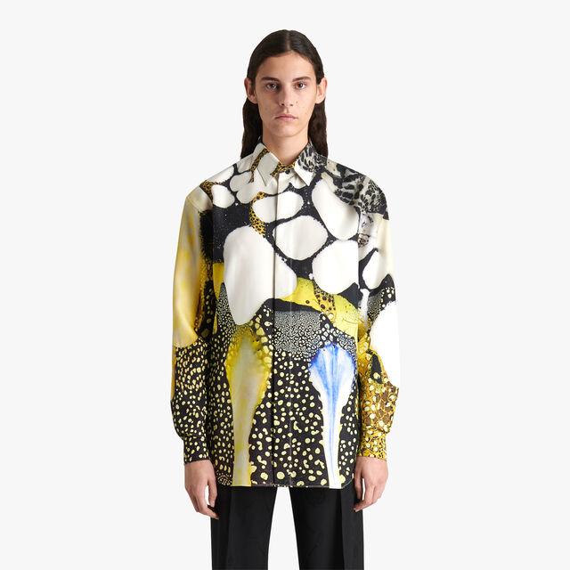 Brian Rochefort Printed Silk Shirt