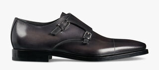 Caractère Eclair Calf Leather Buckle Shoe, DEEP BLACK, hi-res
