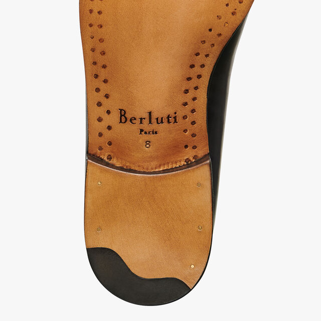 Limited Edition Alessandro Zero Cut Calf Leather Oxford, DEEP BLACK, hi-res