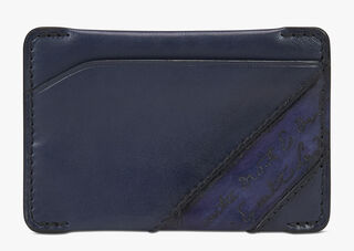 Easy Leather Card Holder, NAVY BLU, hi-res