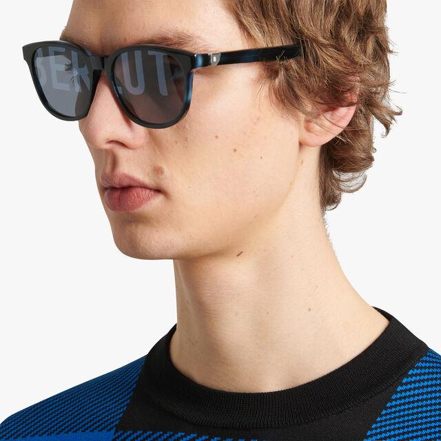 Zenith Acetate Sunglasses, DEEP ROTHKO + SILVER, hi-res