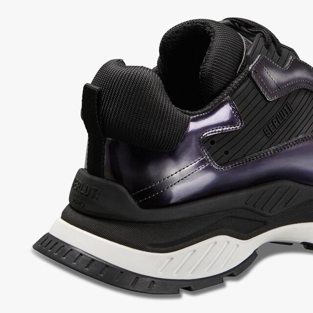 Gravity Calf Leather Sneaker, BLACK METAL, hi-res
