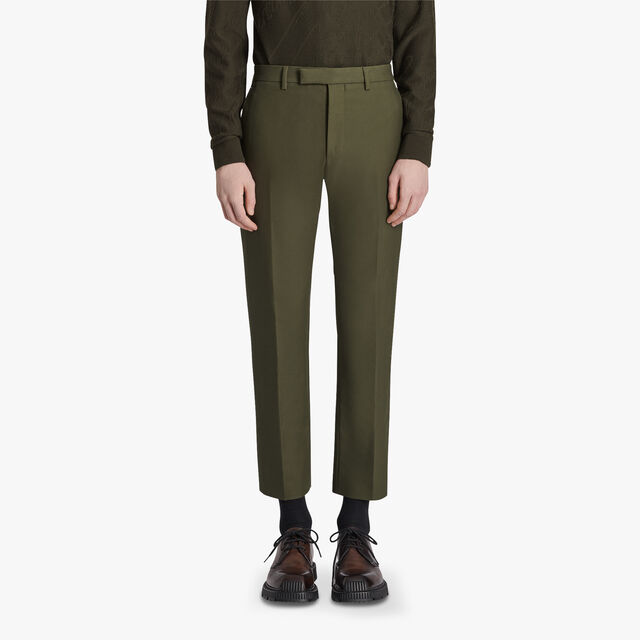 Chino Trousers, FOREST GREEN, hi-res