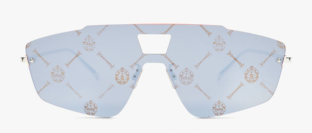 Galaxy Metal And Acetate Sunglasses , MONOGRAM+ BLAZING ORANGE, hi-res