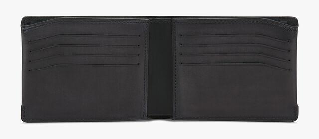 Essentiel Leather Wallet, DEEP BLACK, hi-res