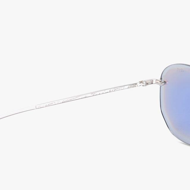 Comète Metal Sunglasses, SILVER+EXTRA GOLD, hi-res