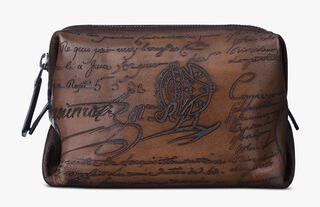 Doudou Pm Leather Case, TOBACCO BIS, hi-res