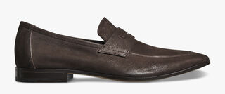 Lorenzo Rimini Leather Loafer, EBANO, hi-res