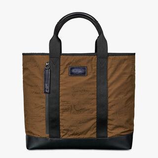 Duo Nylon Tote Bag, KAKI, hi-res