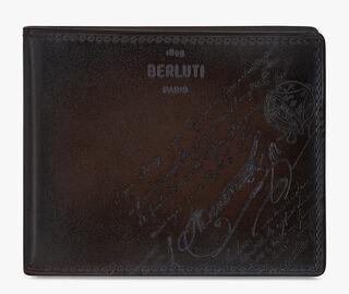 Makore Scritto Swipe Leather Wallet