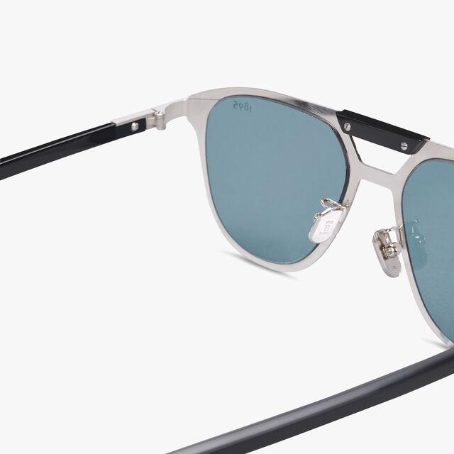 Starbust Scritto Metal Sunglasses, BLACK+VINTAGE BLUE, hi-res