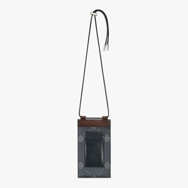 Signature Canvas And Venezia Circuit Pouch , BLACK+TDM INTENSO, hi-res