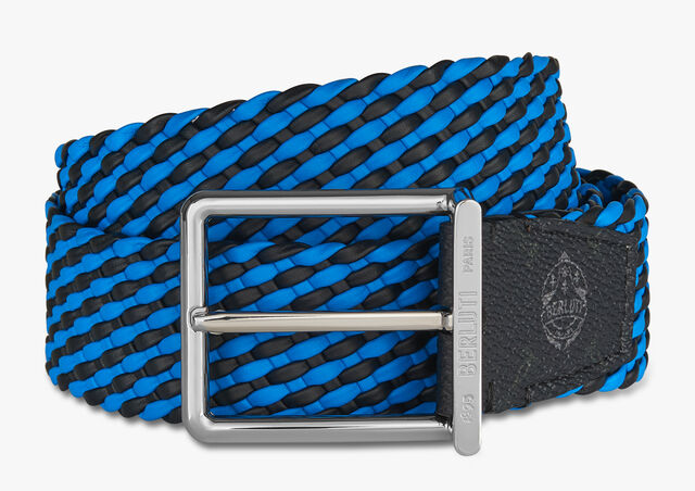 Step Signature Canvas And Braided Calf 35 MM Belt