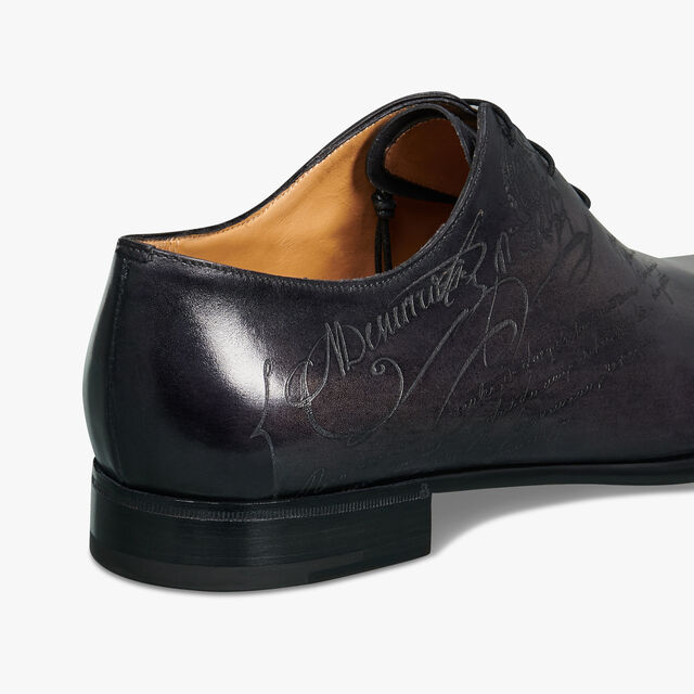 Alessandro Galet Scritto Leather Oxford, NERO GRIGIO, hi-res