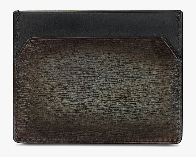 Bambou Neo Printed Leather Card Holder, ICE BROWN, hi-res