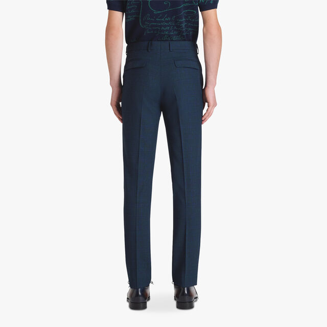 Tailoring Wool Trousers, PLEIADES BLUE, hi-res