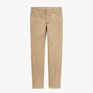 Cotton Chinos, STRAW, hi-res