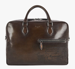 F088 Leather Briefcase, TDM SCURO, hi-res