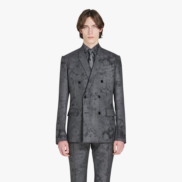 Formal Marble Wool Jacket, FERRO, hi-res